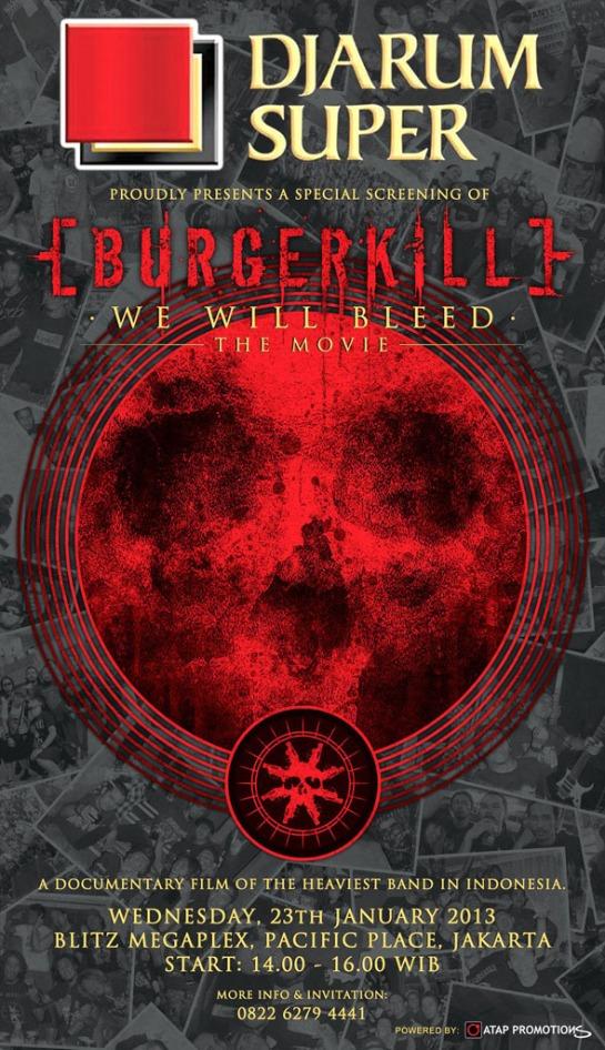 BURGERKILL - WE WILL BLEED
