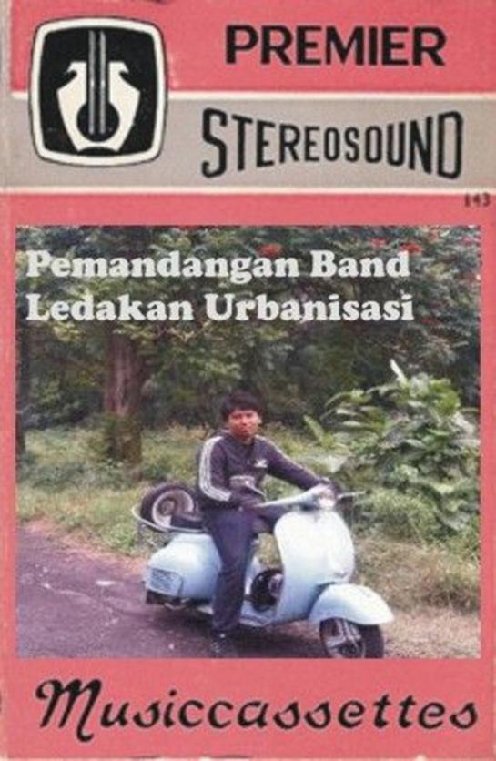 Pemandangan Band - Ledakan Urbanisasi (album-cover)
